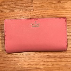 Pink KATE SPADE Jackson Street Stacy wallet